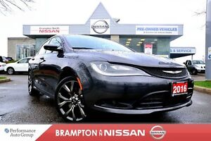 2016 Chrysler 200 S *NAVI|Heated seats|Rear view monitor*