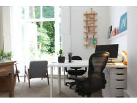 Desk space to rent in friendly office / studio in Petersfield