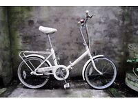 RALEIGH COMPACT, vintage shopper folding bike, 3 speed