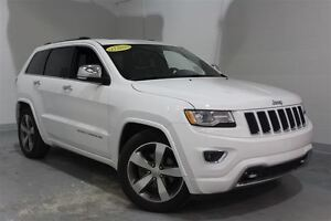 2015 Jeep Grand Cherokee Overland**CUIR*TOIT*GPS*CAM RECUL