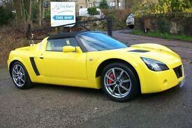 vauxhall,VX 220 LIMITED EDITION LIGHTNING YELLOW.