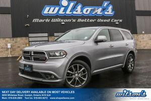 2017 Dodge Durango GT AWD! LEATHER! SUNROOF! HEATED STEERING+FRO