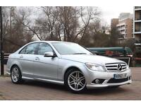 2011 (60) Mercedes Benz C-Class Blue F-CY SPORT FULL LEATHER INTERIOR+MERCEDES HISTORY
