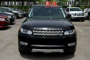 2014 Land Rover Range Rover Sport V8 Supercharged CERTIFIED & E-