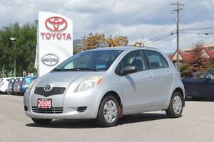 2006 Toyota Yaris LE 1.5L FWD 5 Speed Manual/Air Conditioning