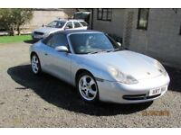 1999 porsche 911 carrera 4 convertible / mot feb 2019