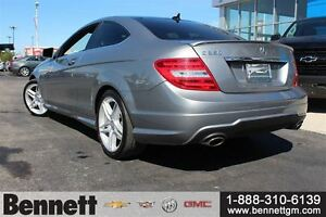 2012 Mercedes-Benz C-Class C350 -Loaded Coupe, Nav + Sunroof Kitchener / Waterloo Kitchener Area image 7