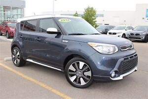 2014 Kia Soul SX - Leather, Heated Steering Wheel, and More!
