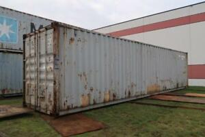 40 ft Standard Shipping Container (Damaged)