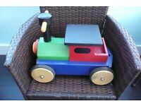 "Hand made wooden ""Petit Chou"" baby walker"