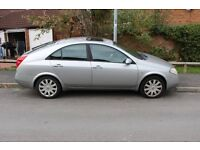 2004 NISSAN PRIMERA 2.0 Petrol(Auto)WITH MOT AND LOW 71k MILES