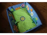 HABA playmat /babygym / playpen . changing mat 'Dream Meadow'