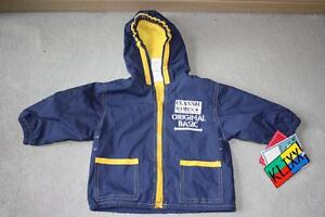 BRAND NEW Raincoat (Fleece Lined) - Size 12 Mos