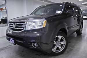 2013 Honda Pilot EX-L, LEATHER, ROOF, ALLOYS, ONE OWNER, NO ACCI