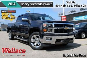 2014 Chevrolet Silverado 1500 2LZ/LOADED!/CLEAN HSTRY/V8/Z71/TRL
