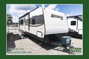 2018 PRIMETIME Avenger 27RKS Rear Kitchen Travel Trailer