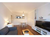 Bright & spacious 2 bedroom flat in a portered block