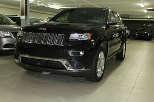 2014 Jeep Grand Cherokee SUMMIT DIESEL 4X4 *CUIR/TOIT/NAV/TECH/H