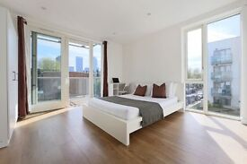 Super Luxury Double Rooms in Modern Flat near CANARY WHARF