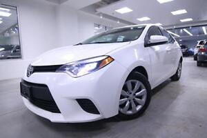 2014 Toyota Corolla LE, PWR GROUP, BACK UP CAM, ONE OWNER, FULLY
