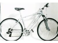 Medium Giant CR5 Hybrid City Road Bike Touring Front Suspension Forks Black Mens