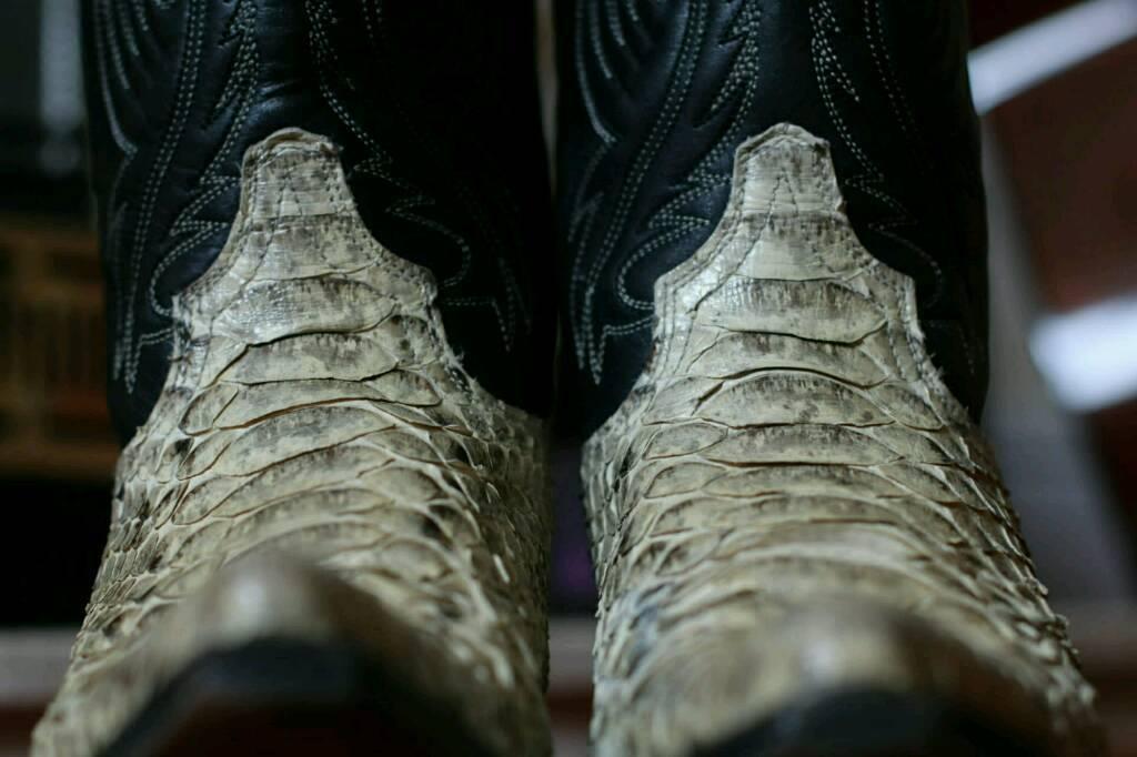 e8e6c432ce9a6 Sendra Snakeskin Cowboy Boots UK 5   in Wolverhampton, West ...