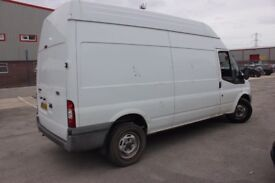 FORD TRANSIT 2009 350 LWB HIGH ROOF 2402cc TURBO DIESEL