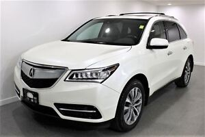 2016 Acura MDX 7 Pass|Cam|Nav|Leather|Bluetooth