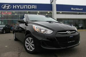2016 Hyundai Accent Auto/LOW KMS/AUX/ECO/Traction Control Prince George British Columbia image 1
