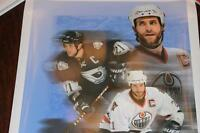 JASON SMITH - OILERS CAPTAIN LITHOGRAPH PRINT