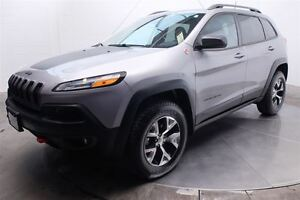 2016 Jeep Cherokee TRAILHAWK AWD MAGS CUIR ECRAN TACTILE