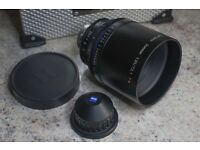 Carl Zeiss 135mm T2.1 CP.2 Compact Prime Cine Lens - Arri PL Mount / Feet - Flawless Condition
