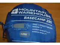 Mountain warehouse sleeping bag