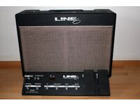 Line 6 Flextone II 2 Digital Modelling Guitar Amp Amplifier with Foot Controller / Pedal Board