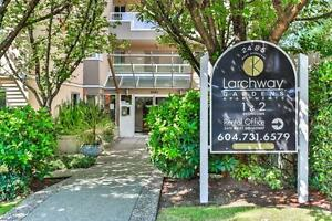 One Bedroom For Rent at Larchway Gardens - 2475 West Broadway