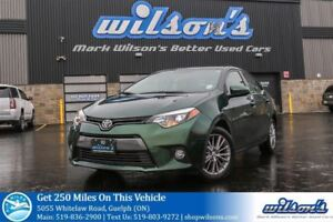 2015 Toyota Corolla LE SUNROOF! REAR CAMERA! HEATED SEATS! BLUET