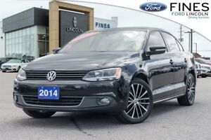 2014 Volkswagen Jetta Highline - LEATHER, ROOF, NAVIGATION!