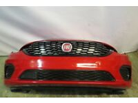FIAT TIPO FRONT BUMPER IN RED 2015-ON
