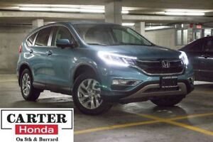 2015 Honda CR-V EX-L + LOW KMS + NO ACCIDENTS + CERTIFIED