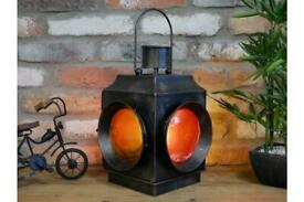 Railway industrial style lamp