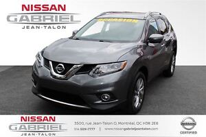 2014 Nissan Rogue SL AWD SL AWD LEATHER, ONE OWNER CERTIFIED