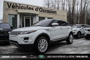 2013 Land Rover Range Rover Evoque Pure Financement 0.9% CERTIFI