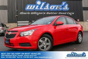2014 Chevrolet Cruze LT LEATHER! REAR CAMERA! HEATED SEATS! REMO