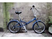 RALEIGH PARKWAY, shopper folding bike, 6 speed