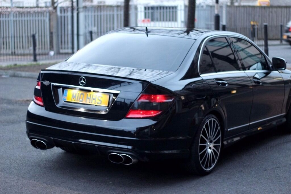 mercedes c220 amg line w204 c63 replica in islington london gumtree. Black Bedroom Furniture Sets. Home Design Ideas
