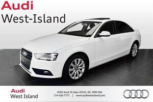 2014 Audi A4 2.0T QUATTRO West Island Greater Montréal image 1