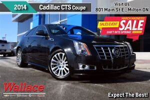 2014 Cadillac CTS LOADED/1-OWNER/ACCIDENT-FREE/LEATHER/SUNROOF/H