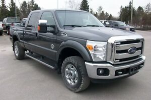 2015 Ford F-350 DIESEL XLT LEATHER SHORTBOX 4X4 CREW