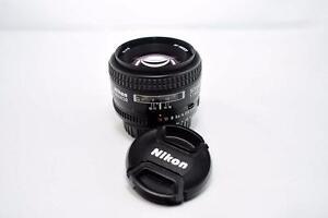 Nikon AF 50mm f1.4 D Prime Lens