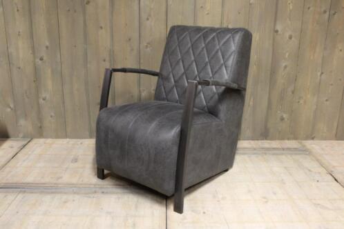 ≥ stoere industriële stoffen fauteuils fauteuil industrieel